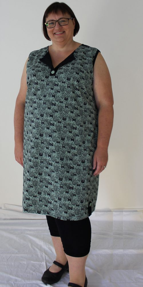 Moderigtig plus size kjole