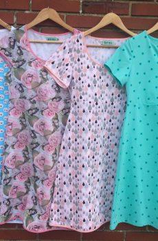 Basic kjole byViola